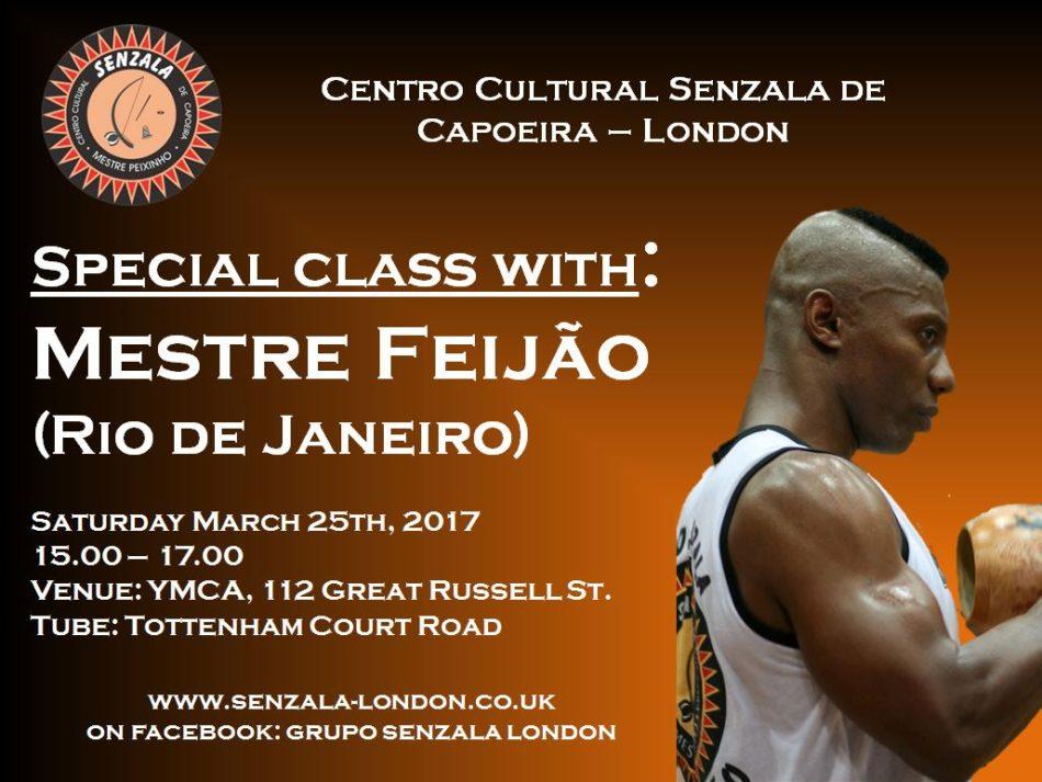 Special class with Mestre Feijão