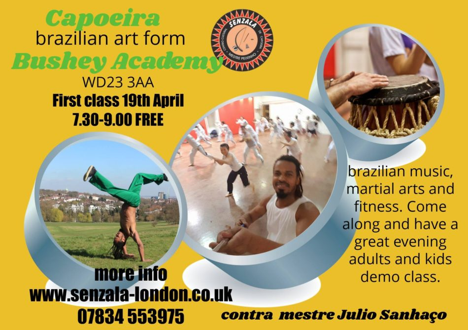 New Capoeira Classes in Bushey