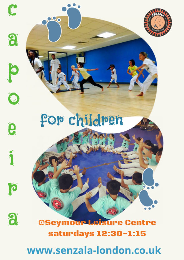 Children's capoeira classes in London