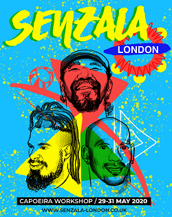Cancelled – capoeira workshop weekend (May 2020) in London with mestres Toni Vargas and Marinaldo